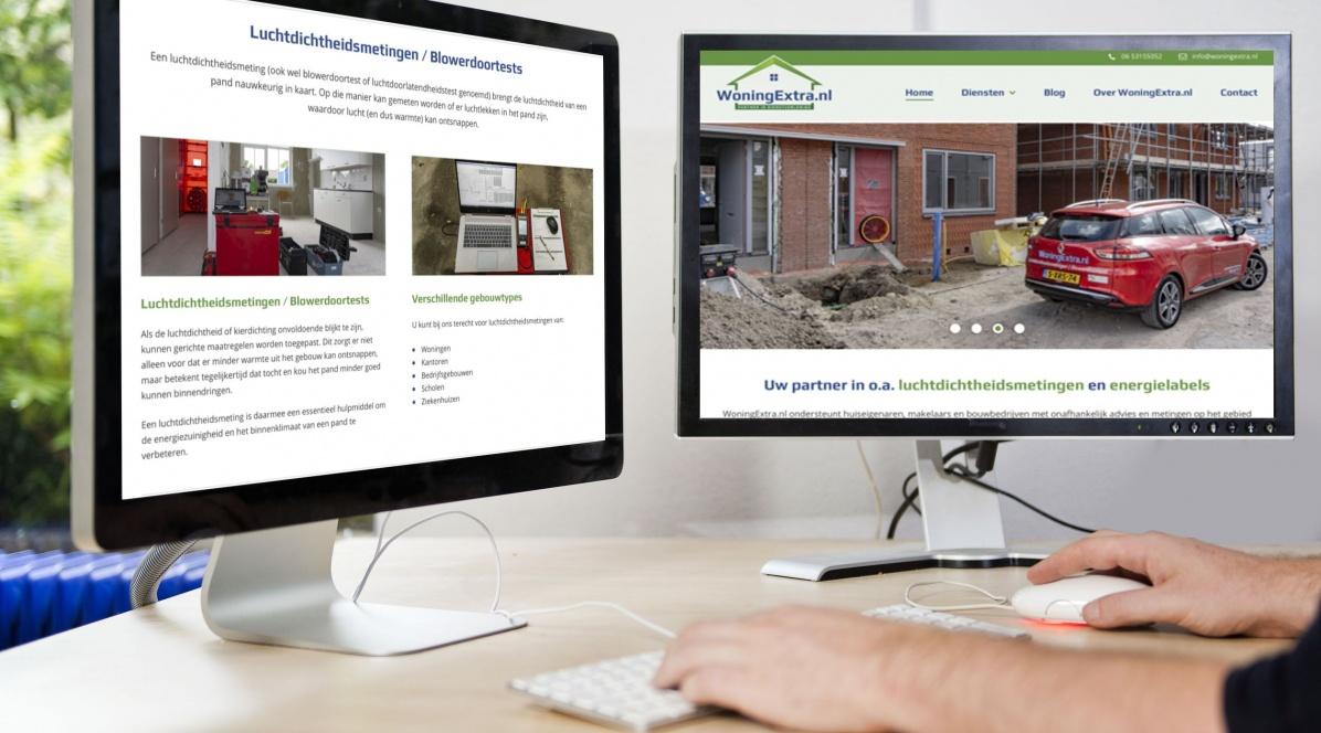 Nieuwe website van WoningExtra.nl